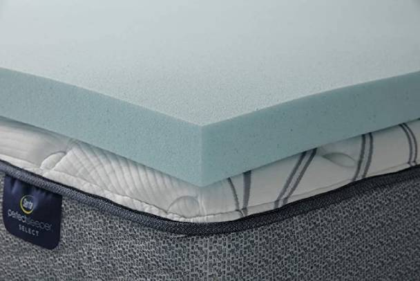 Serta ThermaGel Memory Foam Topper