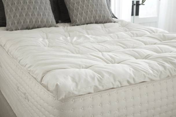 PlushBeds Natural Luxury Wool Topper